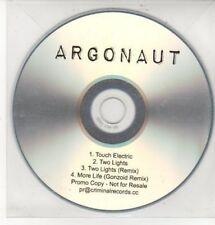 (DD392) Argonaut, Touch Electric - DJ CD
