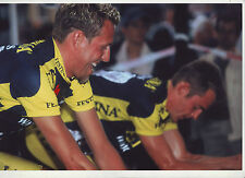 CYCLISME COUREUR EQUIPE FESTINA **TOUR DE FRANCE* PHOTO 30 X 20 CM QUALITE PRO