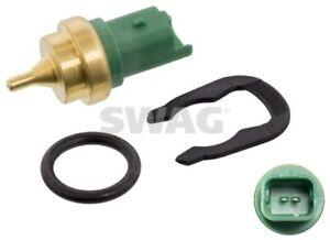 SWAG Coolant Temperature Sensor 62 93 7173 fits Peugeot 307 1.6 16V (80kw)