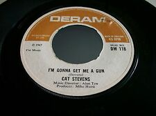 Cat Stevens,I'm Gonna Get Me A Gun/School Is Out, (Deram 1967)