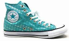 Converse Unisex Adult CTAS Hi Hadley 78 Skate Shoes Aqua White Mens 7 Womens 9