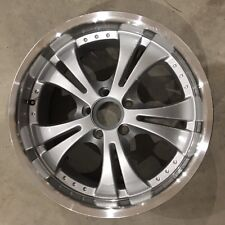 "AIRSTREAM BASECAMP SINGLE ALUMINUM TRAILER WHEELS 18""X8"" 5 LUG ON 4.5"""