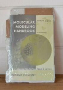 Vintage Molecular Modeling Handbook / model Kit J  W Zubrick science chemistry