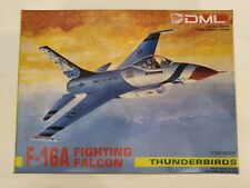 DML F-16 Fighting Falcon Thunderbirds 1:144 model airplane kit complete 4504