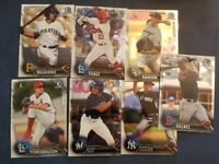 2016 Bowman Chrome and Draft Chrome Prospects You Pick From List