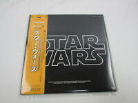 Star Wars OST 35MW0032/3 with OBI Japan VINYL  LP