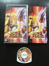 DRAGON BALL Z SHIN BUDOKAI, PSP JAP, complet comme neuf