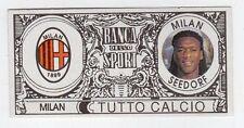 figurina - TUTTO CALCIO EURO MONETE  - MILAN SEEDORF