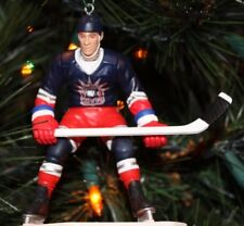 WAYNE GRETZKY NEW YORK RANGERS CHRISTMAS TREE ORNAMENT NHL Alt Blue Jersey