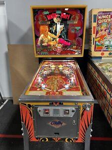 1978 BALLY MATA HARI PINBALL MACHINE CLASSIC LEDS PLAYS GREAT