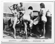 PRIME TIME -1960- 2 Orig Glossy Photos - HERSCHELL GORDON LEWIS bad girl film -C