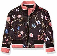 Urban Republic Baby Girls Poly-Sateen Jacket, black01/blk, 12M