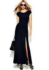 Michael Kors Luxus Maxikleid/Jersey Kleid Dunkelblau Gr.40/L Neu!