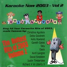 Easy Karaoke - Pop Hits Now 2003 Vol 2 (10 trk CD+G / Tatu / Aguilera)