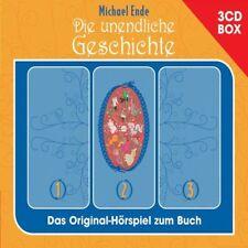 """MICHAEL ENDE """"DIE UNENDLICHE GESCHICHTE"""" 3 CD BOX NEU"""