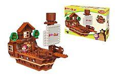 Construir divertido Fair Park bloque de construcción de mini Nanoblock iBlock Barco Pirata//Noria