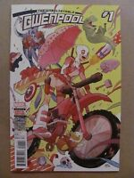 Unbelievable Gwenpool #1 Marvel Comics 2016 Series 1st Print 9.6 Near Mint+