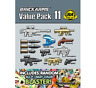 BRICKARMS Value Pack #11 Weapon Pack w/ Random Sci Fi Weapon for Minifigures NEW