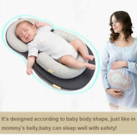 Infant Baby Newborn Pillow Cushion Prevent Flat Head Sleep Nest Pod Anti Roll B9