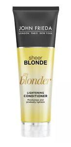John Frieda Sheer Blonde Go Blonder Conditioner, 8.3 Ounce Gradual Lightening