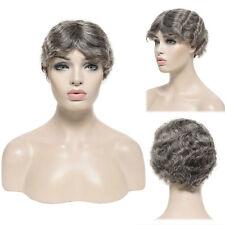 Real Brazilian Virgin Human Hair Wig Remy Straight Wavy For Black Women Fashion