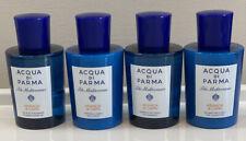 ACQUA DI PARMA - BLU MEDITERRANEO - HAIR & BODY - 4 PIECE SET - 4 x 75ml ..NEW!!
