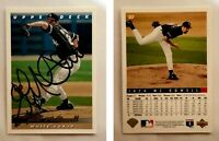 Jack McDowell Signed 1993 Upper Deck #357 Card Chicago White Sox Auto Autograph