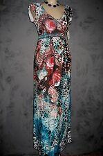 Claire Pettibone Dress RESORT EXOTICA Maxi Bold Leopard Print NWT XS $110 SALE