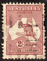 1945 Australia Sg 212 2s maroon (Die II) Good Used
