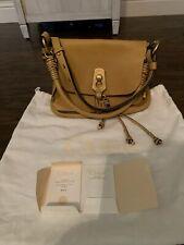 Chloé Owen Small Leather Flap-Top Bag
