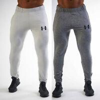 Mens Sport Pants Long Trousers Tracksuit Fitness Workout Yoga Gym Sweatpants