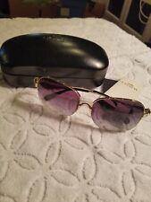 Coach Light Grey Gradient Metal Sunglasses NWT $180