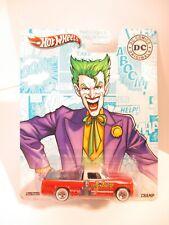 Hot Wheels Pop Culture DC Comics The Joker '63 Studebaker Champ Real Riders