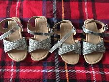 Twin Girls Sandals George Size 7