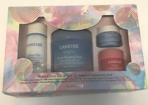 Laneige Hydration Dream Team 4 Piece Skin Care Gift Set NEW  - box been open
