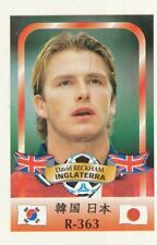 363 DAVID BECKHAM # ENGLAND CARD WORLD CUP 2002 REYAUCA