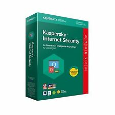 Kaspersky 2018 antivirus Internet Security 1 licencia