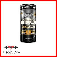 Muscletech Platinum 100% Tribulus 100 Capsules Test Booster 650mg