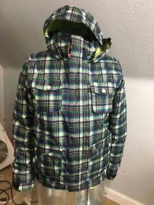 Burton DryRide Youth Size L (14-16) Snowboatding Jacket.