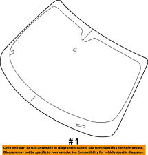 68036993AA Chrysler Wshield shipping as 68036993AA