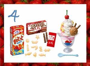 NEW Arrival! Re-Ment Miniature Morinaga Sweets Recipe 700YEN rement No.04