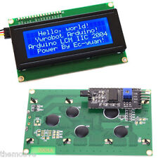 Blue Backlight IIC / I2C / TWI 2004 204 20X4 LCD Module Display For Arduino