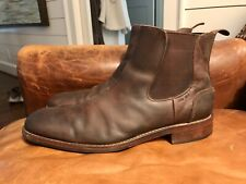 Wolverine Men's 11.5 Montague 1000 Mile Chelsea Ankle Boots Brown Leather