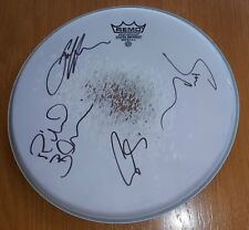 """Porcupine Tree - Coated Drum Head 12"""" Signed by all Band The Incident Tour 2009"""