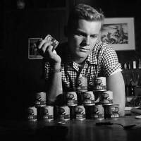 OLD MOVIE PHOTO Actor Tab Hunter Poses At Home In Los Angeles California 15
