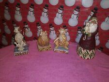 Lot Of 4 Jim Shore Heartwood Creek Figurines