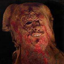 Burlap Bumpkins: Pop - Burlap Scarecrow Mask w Free Shipping
