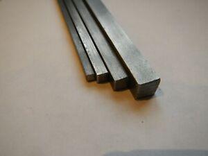 KEY STEEL SQUARE BAR  KEYWAY   2mm 3mm 4mm 5mm 6mm 7mm 8mm 10mm 12mm bar ends