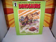 Vintage Dinosaur Puzzle Rainbow Works T-Rex Tyrannosaurus Awesome 70s 80s Sealed