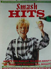 SMASH HITS 22/12/83 - HOWARD JONES - BOY GEORGE - KING KURT - BUCKS FIZZ